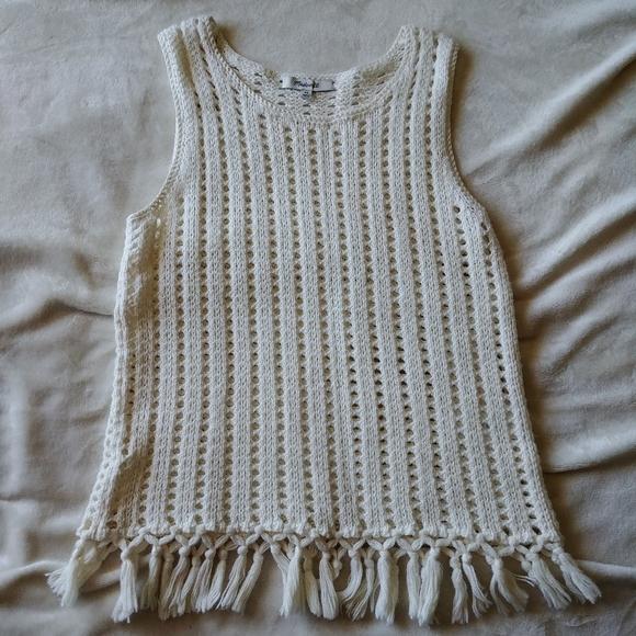 Madewell knit boho top